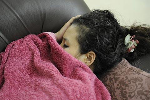 Dauernde Müdigkeit - Anzeichen von Winterdepression
